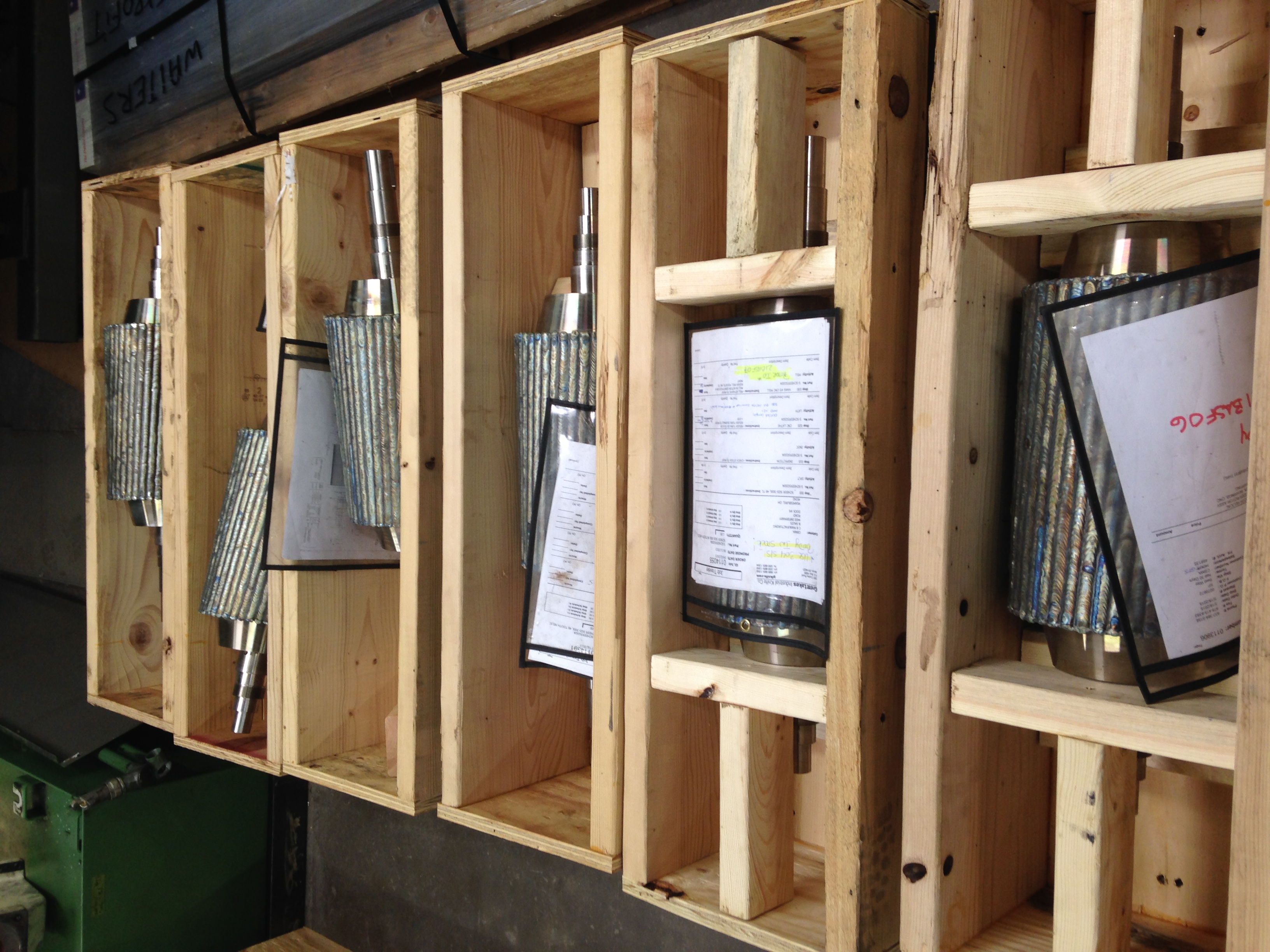 Helical Pelletizer Rotors - Great Lakes Industrial Knife