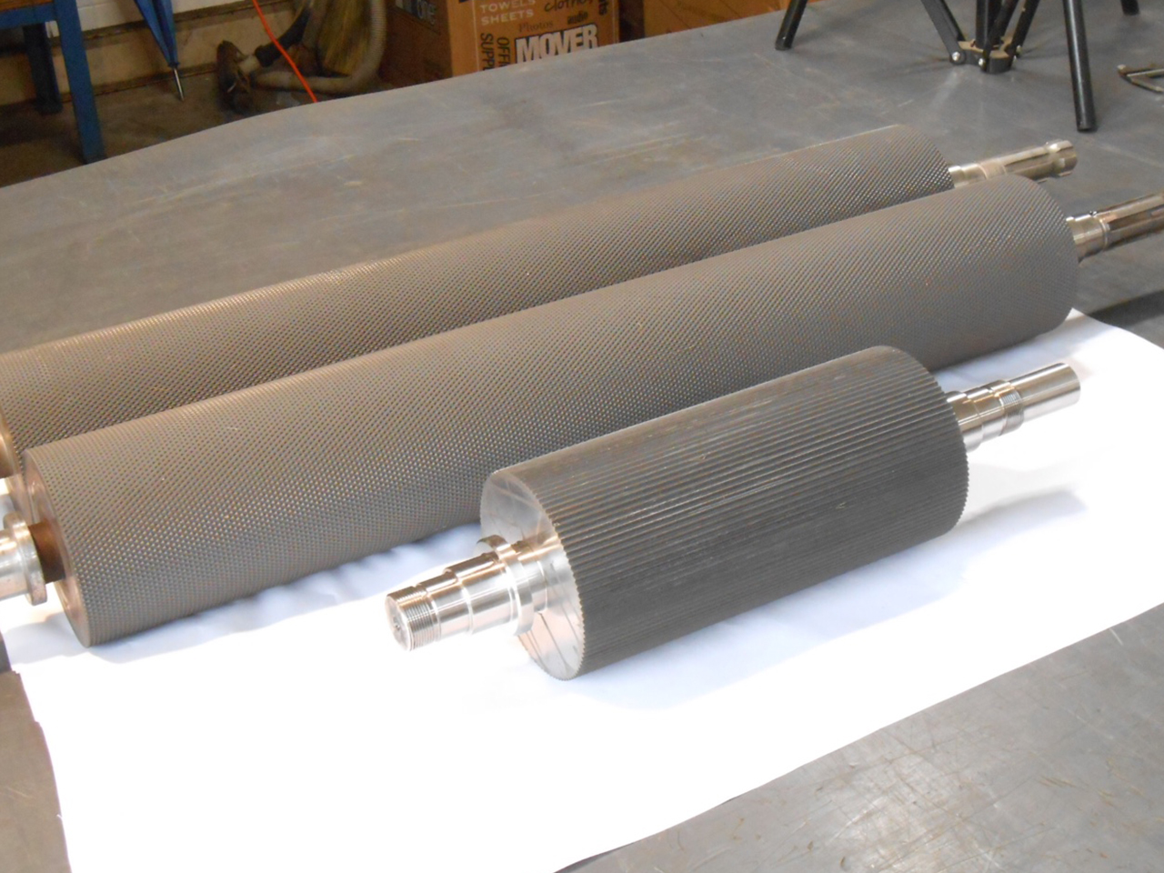 Feed Rolls   Great Lakes Industrial Knife Co.   High Quality Machine Knives